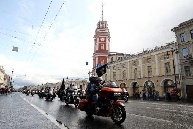 байкеры мотоциклисты фестиваль Harley Days Невский проспект