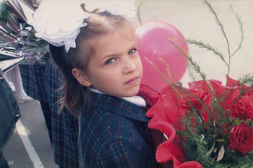 маленькая Даша, детство, 1 сентября