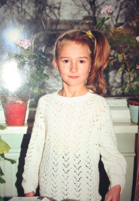 маленькая Марина, детство, 1 сентября