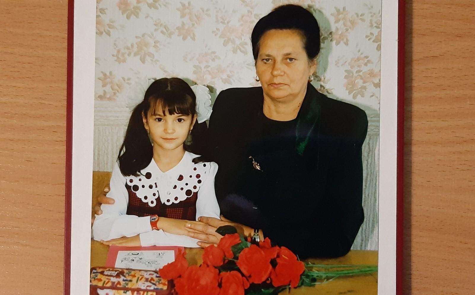 маленькая Рената, детство, 1 сентября