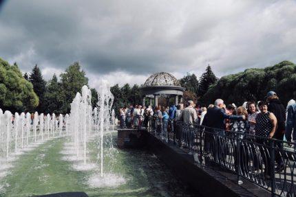 фонтан в Любашинском саду