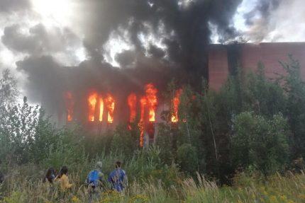 пожар на Складской