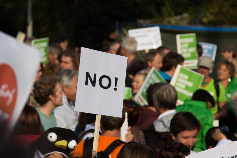 митинг, протест, нет
