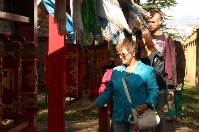 дацан Гунзэчойнэй праздник буддисты