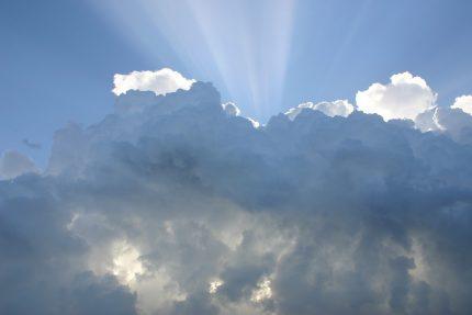облака, погода, солнце