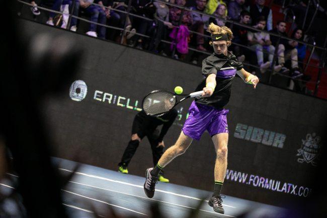 Saint Petersburg Open Теннис Даниил Медведев Андрей Рублёв