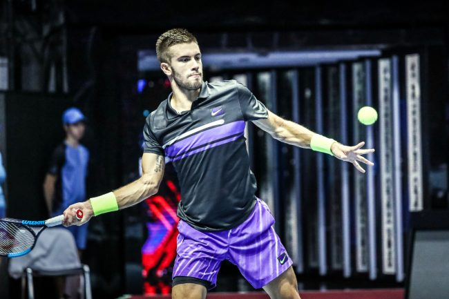 теннис St Petersburg Open Борна Чорич