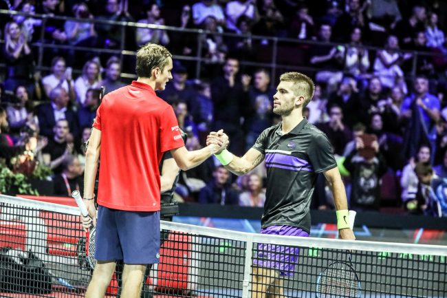 теннис St Petersburg Open Даниил Медведев Борна Чорич чемпион