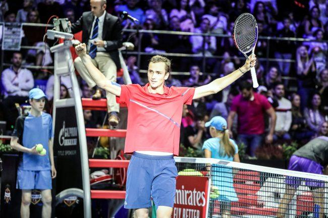 теннис St Petersburg Open Даниил Медведев чемпион