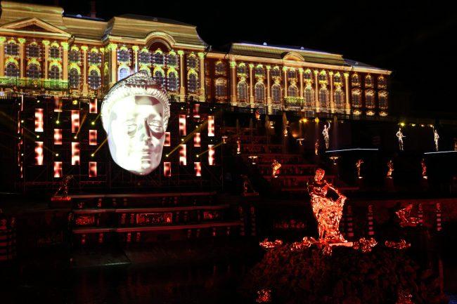 Петергоф осенний праздник фонтанов