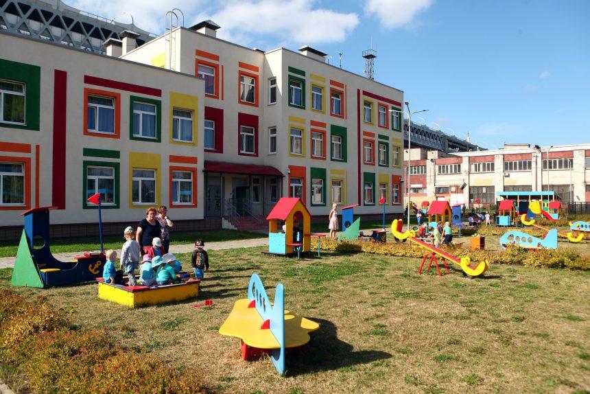 детский сад № 74 Канонерский остров открытие