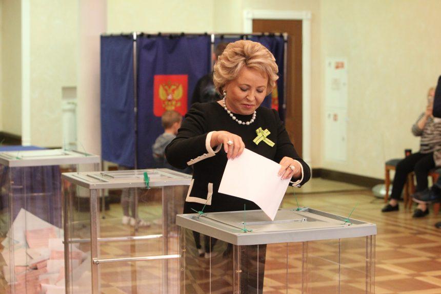 выборы, Матвиенко
