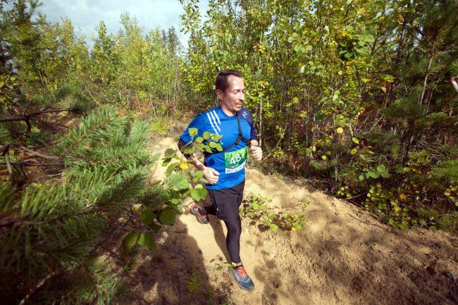 трейл забег по пересечённой местности Rautu Trail бег лёгкая атлетика
