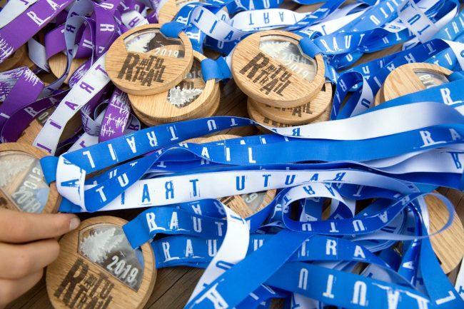трейл забег по пересечённой местности Rautu Trail бег лёгкая атлетика медали