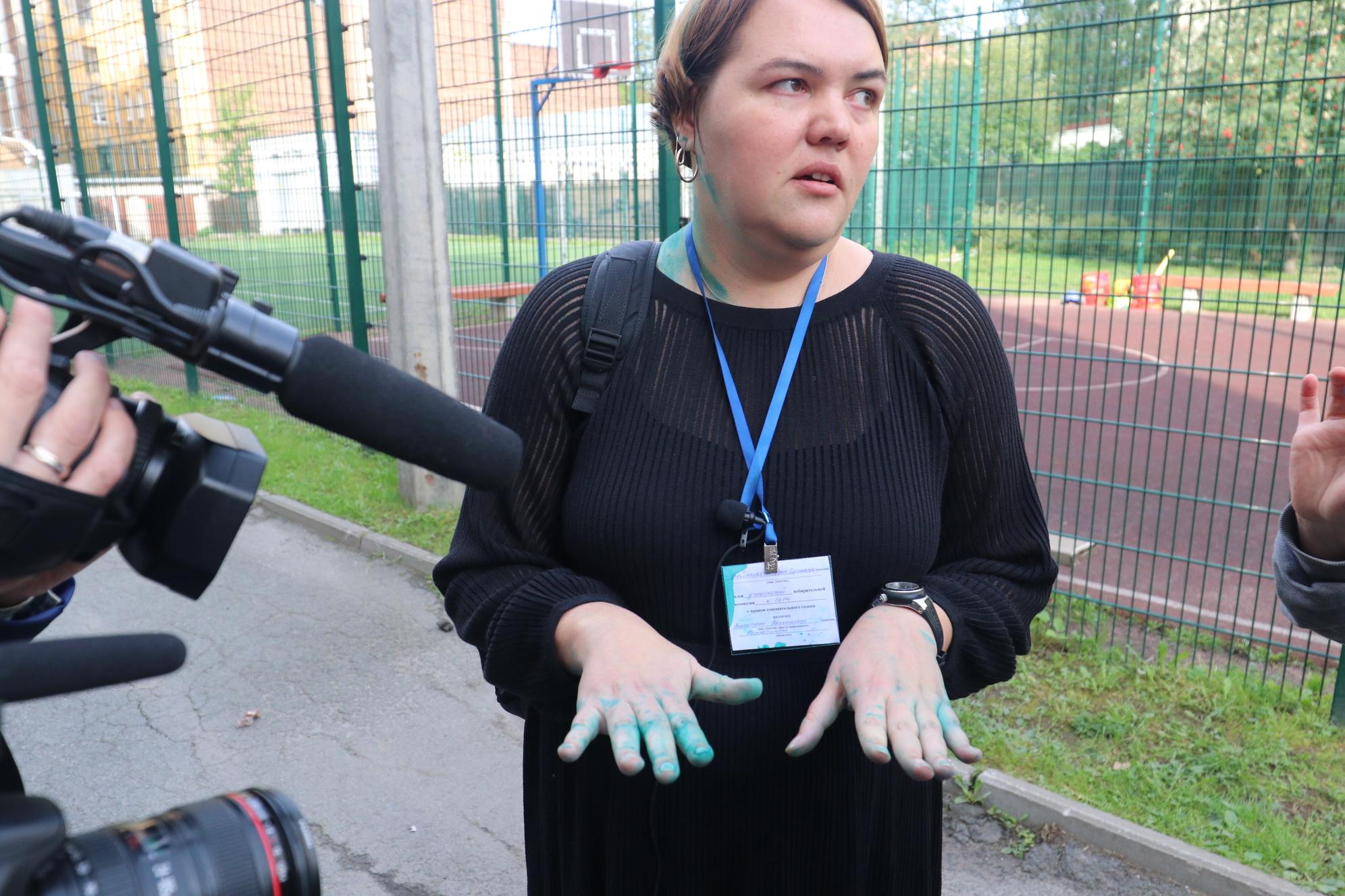 выборы, нарушения, зелёнка, Анна Шлейникова