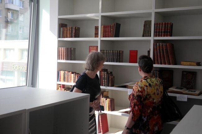 библиотека имени маяковского открытие филиала Охта-8 книги чтение