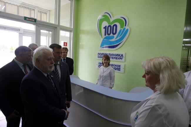 геронтологическое отделение поликлиники 100 Невский район медицина здоровье Игорь Дивинский
