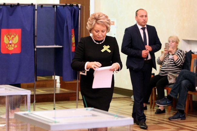 Выборы 2019 единый день голосования Валентина Матвиенко