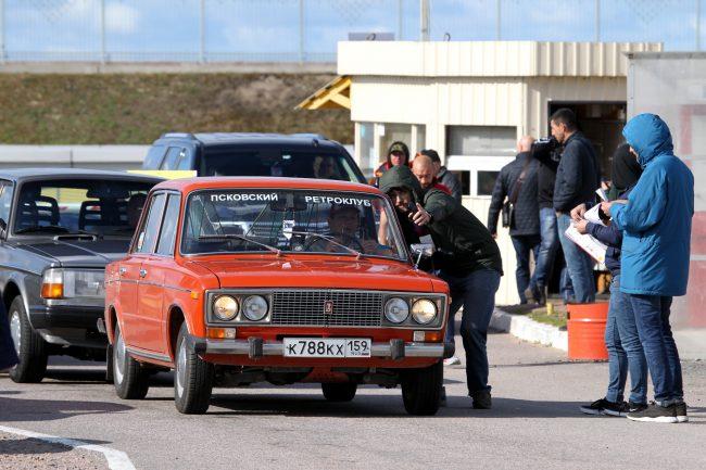 фестиваль ретротехники Фортуна автомобиль Жигули
