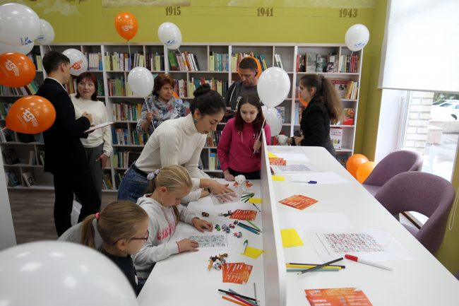 детская библиотека Авиатор детские кружки