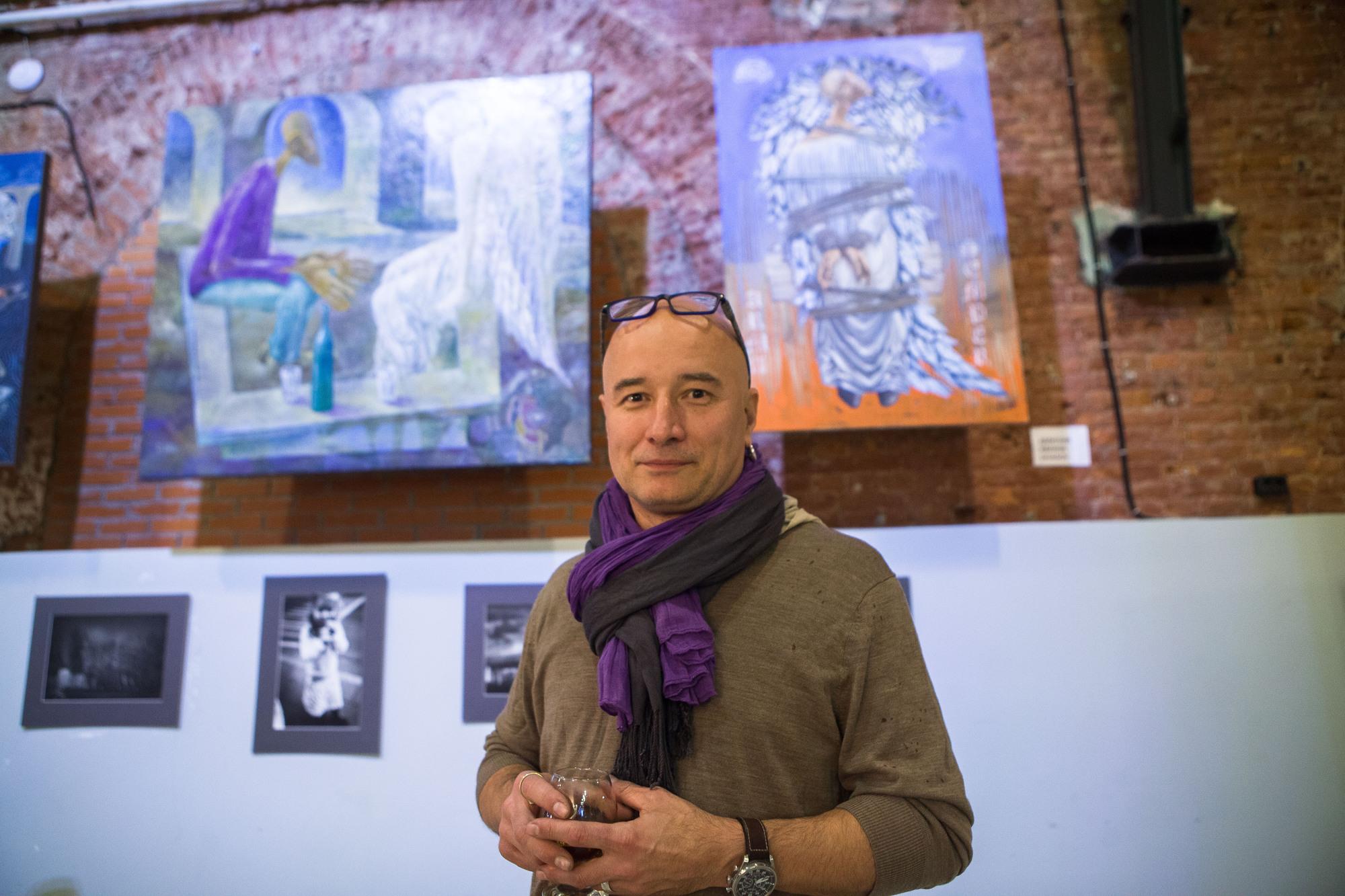 Дмитрий Иванов, артангел, художник