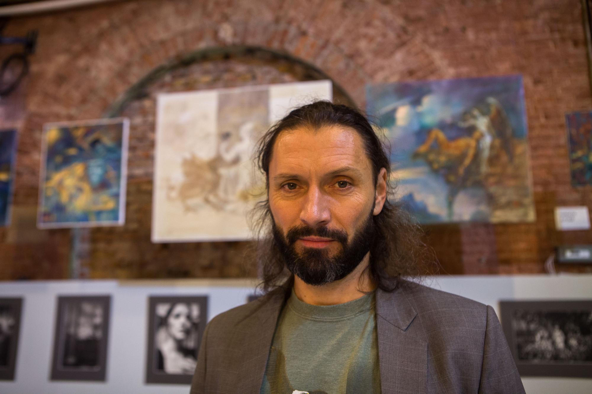 Никита Алтай, артангел, художник