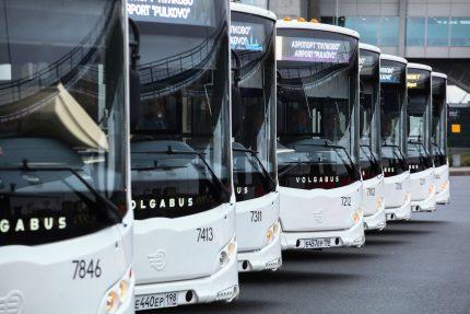 Маршруты транспорта между Петербургом и областью обещают сохранить