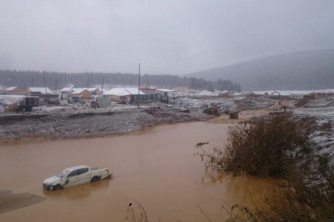 красноярск прорыв дамбы наводнение чп