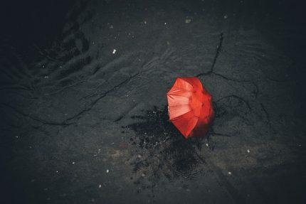 дождь зонт ветер
