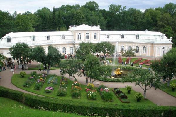 Оранжерея Петергоф Нижний парк