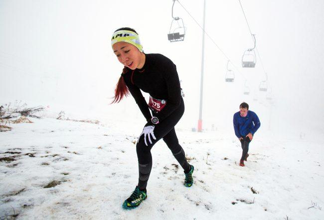 альпинистский горный кросс «НеМартовский заяц» зимний спорт