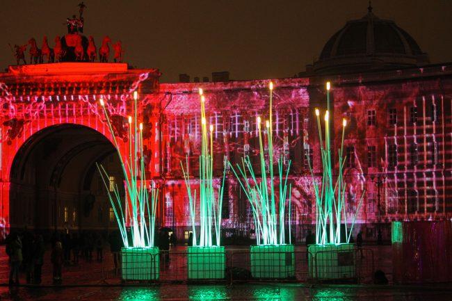 фестиваль Чудо света световые инсталляции