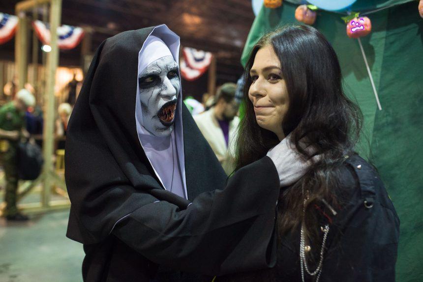Старкон Хэллоуин косплей