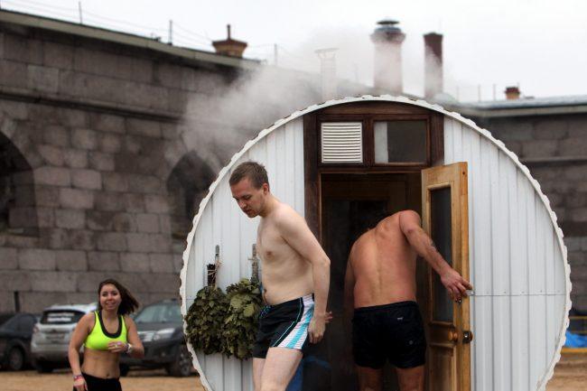 день Дельфина Невские моржи баня