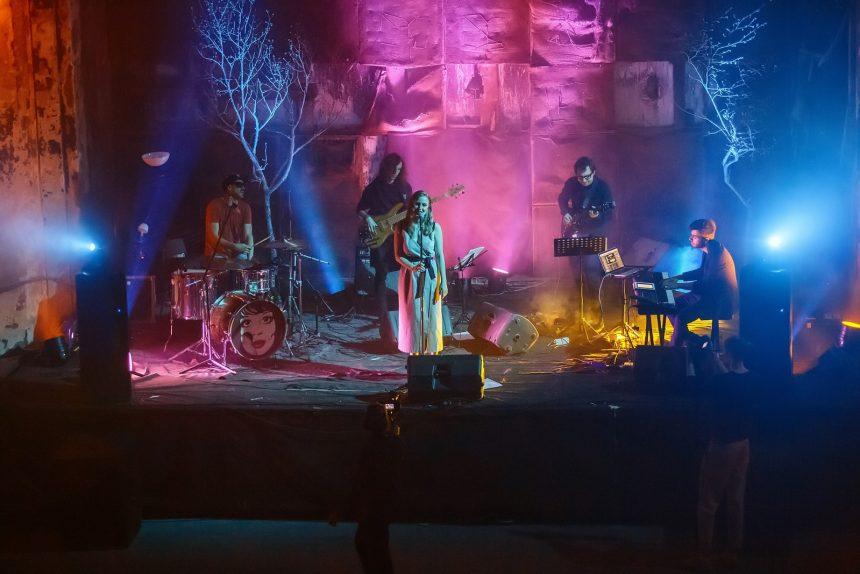 концерт, рождественский лес