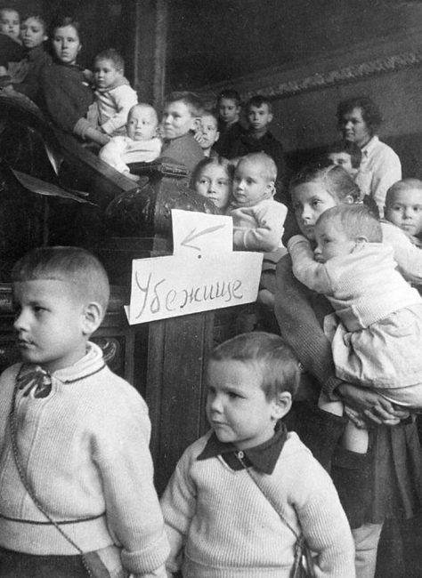 блокада Ленинграда, дети