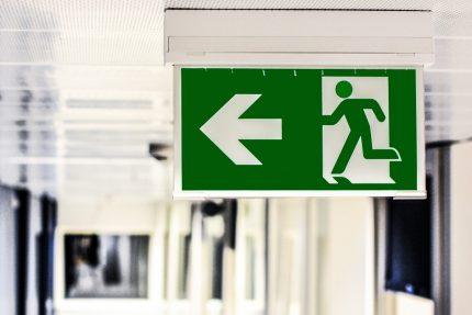 эвакуация аварийный выход