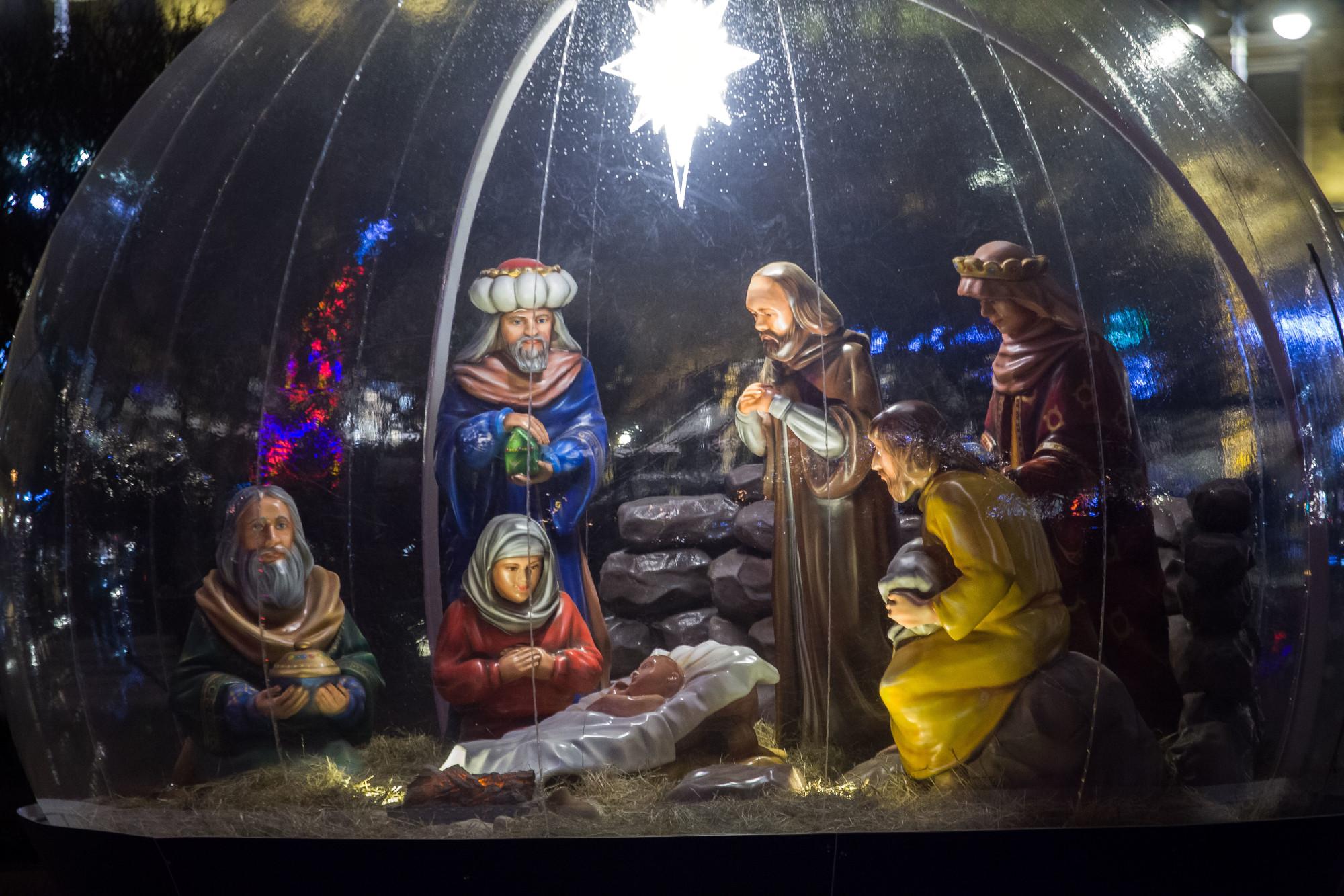 новый год новогодние праздники рождество вертеп
