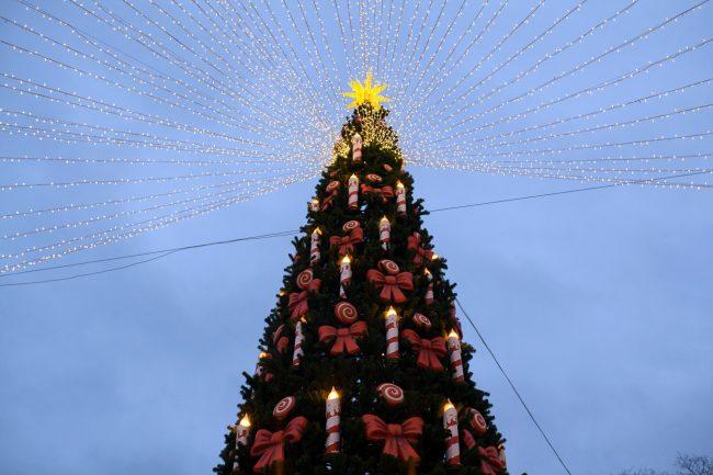 Рождественская ярмарка новый год ёлка