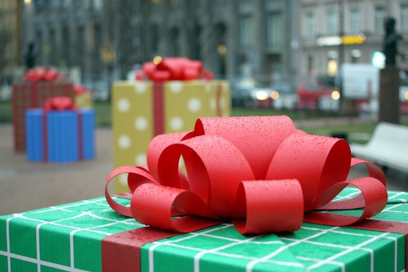 Рождественская ярмарка Новый год подарки украшения