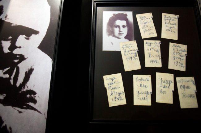 Пискарёвское мемориальное кладбище день освобождения Ленинграда от блокады дневник Тани Савичевой