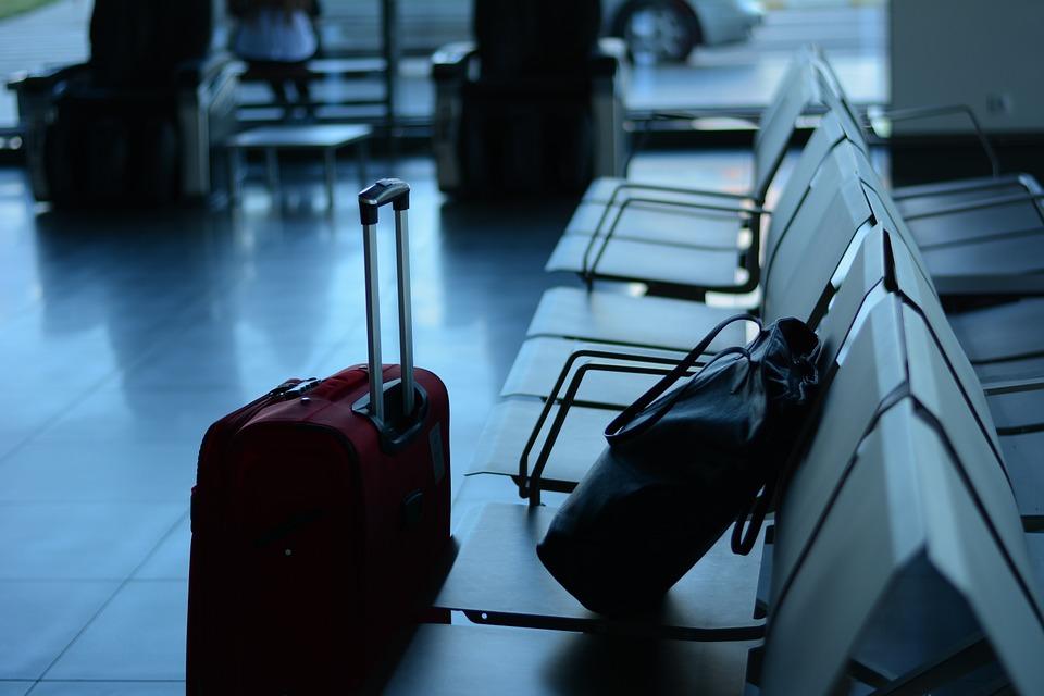 чемодан, аэропорт