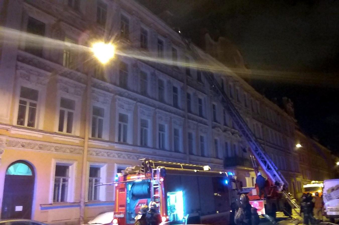 пожар Зверинская улица