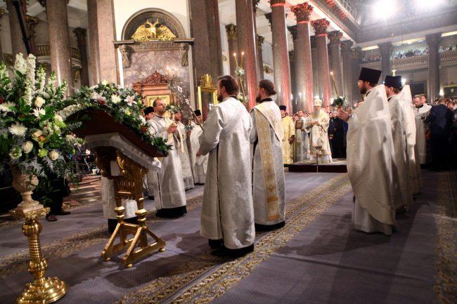 Рождество Казанский собор рождественская служба