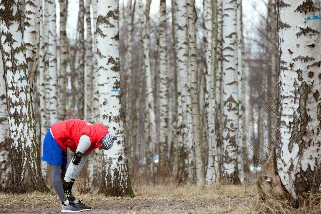 Пискарёвский зимний полумарафон лёгкая атлетика бег