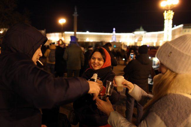 новый год новогодняя ночь шампанское праздник