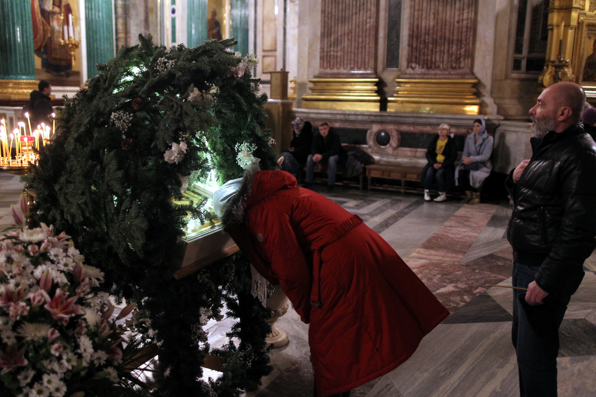 рождество Исаакиевский собор рождественская служба