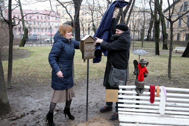 Петербургский ангел Измайловский сад Ольга Романецкая Роман Шустров