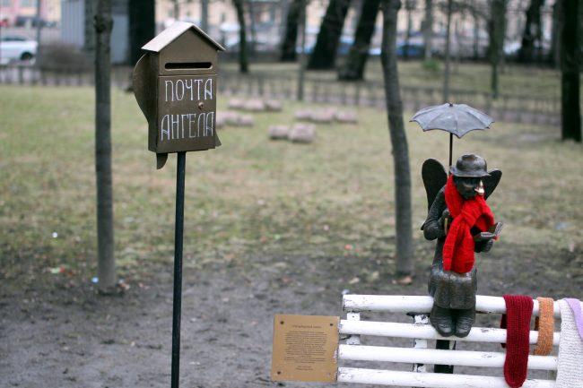 Петербургский ангел Измайловский сад