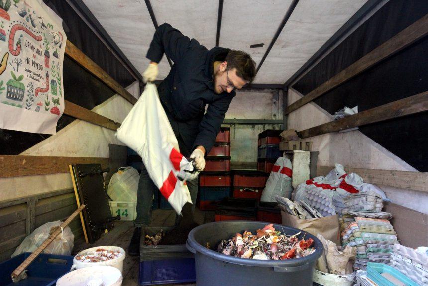 Черви-спасители: как устроен первый в Петербурге пункт по переработке органики